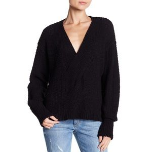 Free People Coco V-Neck Knit Sweater
